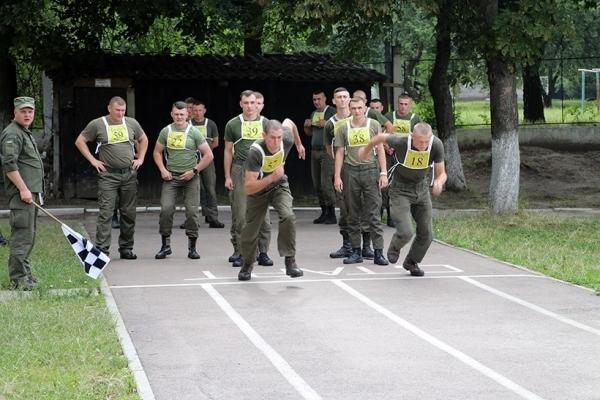 Тернопільські гвардійці пробують свої сили для вступу  у Нацгвардію
