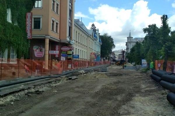 Тернополяни пропонують на реконструйованій частині вулиці посадити алею замість створювати автостоянку