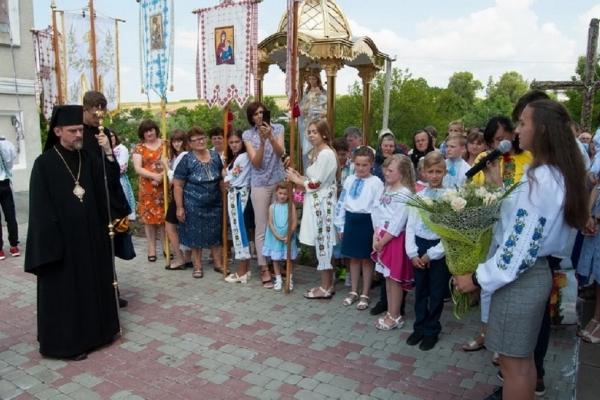 Владика Теодор освятив парафіяльний дім на Тернопільщині