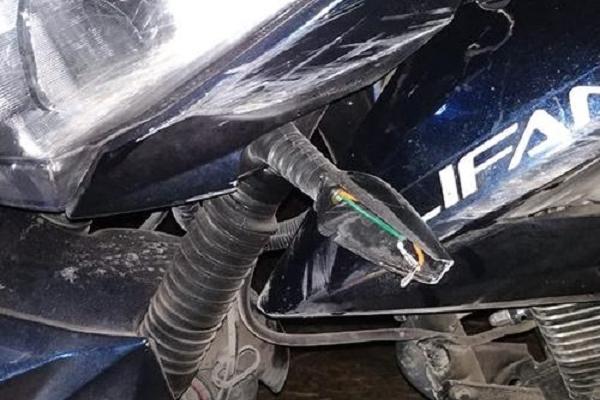 У Кременецькому районі юнак взяв у друга мотоцикл покататися і розбився