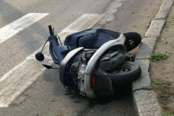 У Хоросткові 14-річний хлопчик впав зі скутера
