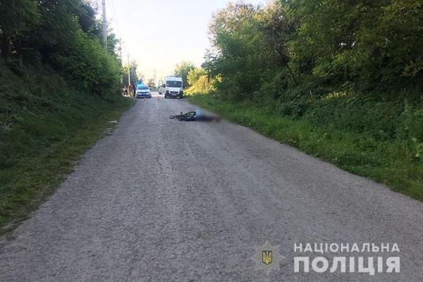 В Копичинцях водій збив велосипедиста і втік