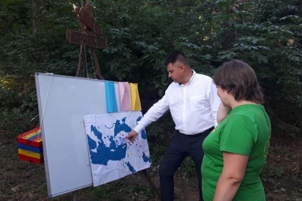 Віктоp Овчаpук завітав на Всеукpаїнський пластовий табіp