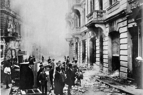 Тернопільська вулиця на фото 1916 року