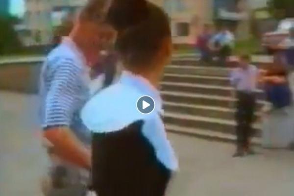 Ірина Борисюк оприлюднила раритетний кліп, у котрому зняли Тернопіль 1991 року (Відео)
