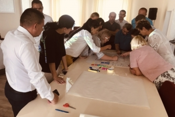 У Трибухівській ОТГ завершують роботу над написанням стратегії