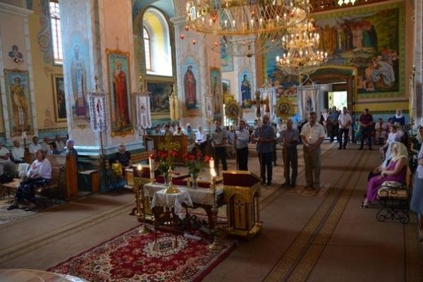 В Теребовлянській ПЦУ Св. Володимира 28 липня відзначали потрійне свято