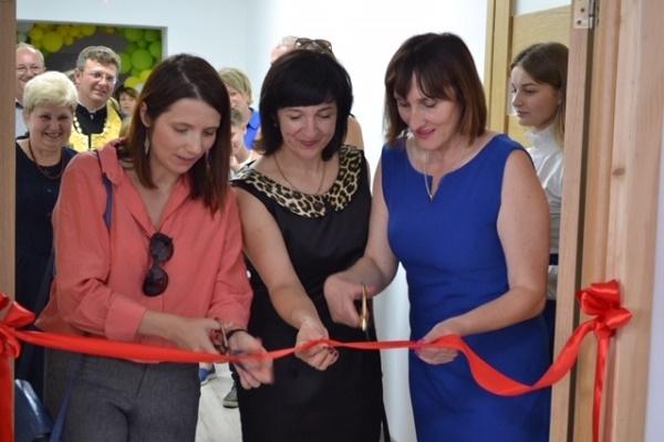Багатофункціональну актову залу урочисто відкрили у Старовишнівецькій школі Вишнівецької ОТГ