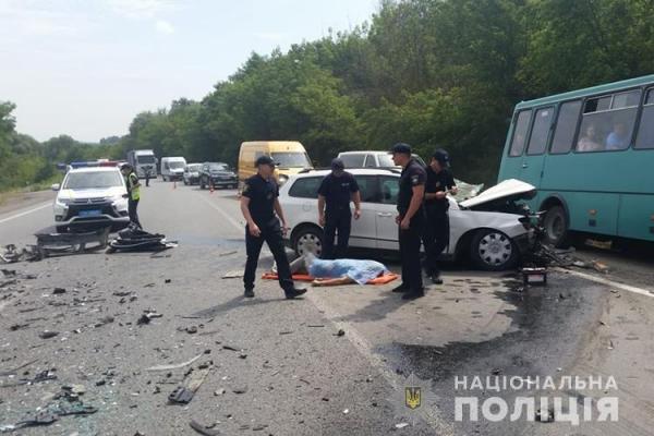 В ДТП у Ступках загинув водій іномарки
