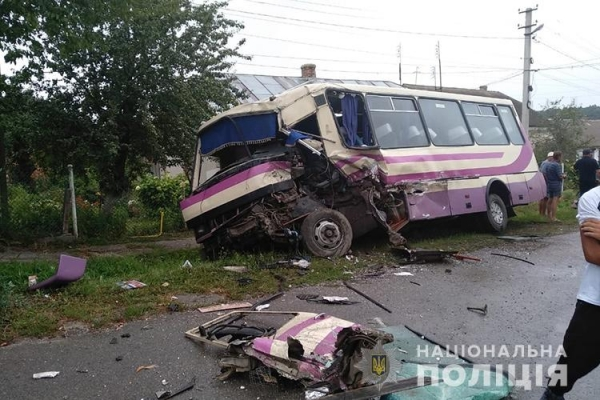 В аварії у Струсові постраждала сім'я з Вінничини