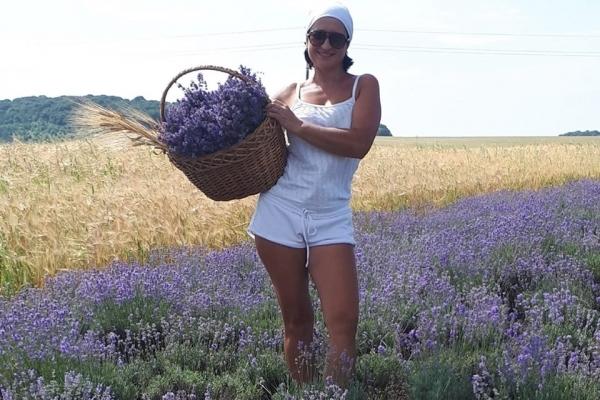 На Тернопільщині росте лавандове поле