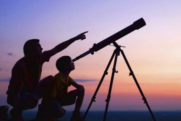 Тернопіль з'явився на першій астрономічній карті України