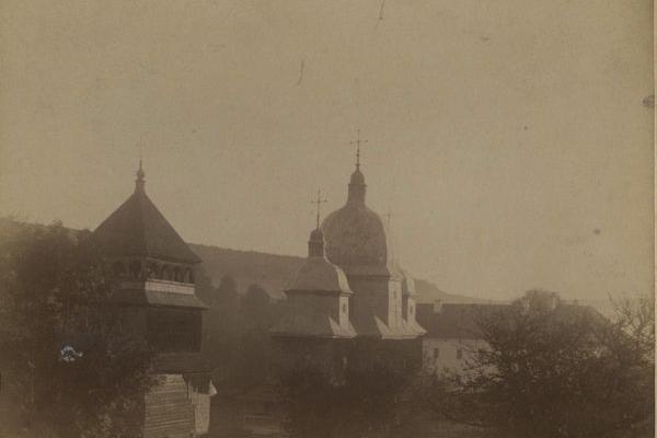 Храм у селі Краснопущі в ХІХ столітті