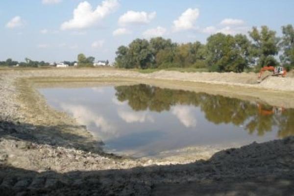 На Тернопільщині покарають чоловіка, який на городі облаштував ставок