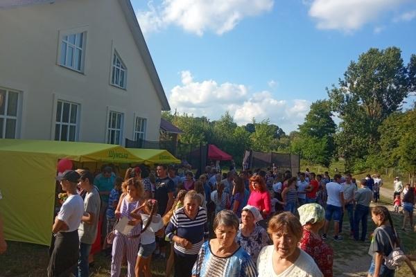 Обич гучно відзначив День села