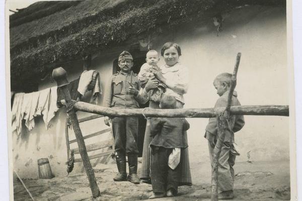 Село на Зборівщині 100 років тому