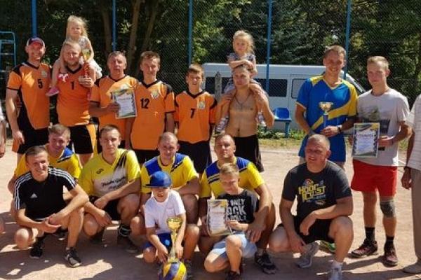 Володарі районного Кубка – Великогаївська волейбольна команда