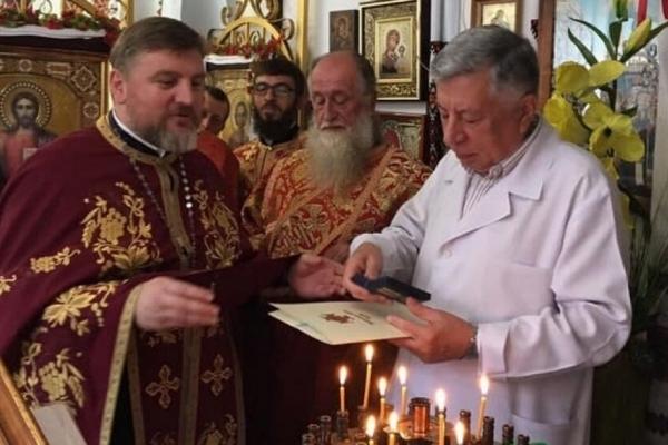 Головний лікар Тернопільської обласної дитячої лікарні отримав церковну нагороду