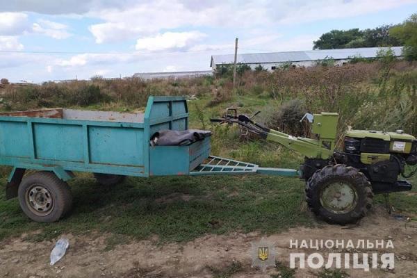 На Теребовлянщині загинув водій мотоблоку