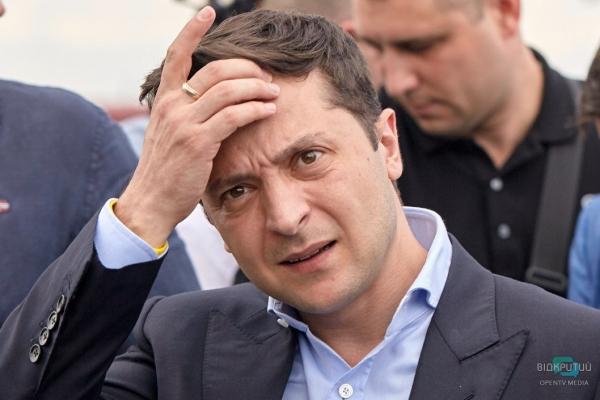 Рейтинг Зеленського обвалився на чверть за три місяці
