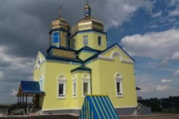 На Тернопільщині збудували новий храм замість згорілого