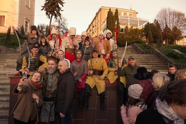 У День міста Тернополем проведуть театралізовану екскурсію