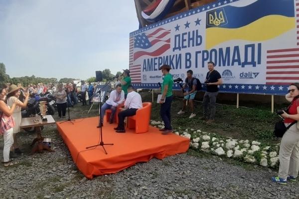 На Тернопільщині провели фестиваль в американському стилі