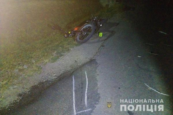 У Великих Гаях зіткнулись автомобіль та мотоцикл. Є загиблі