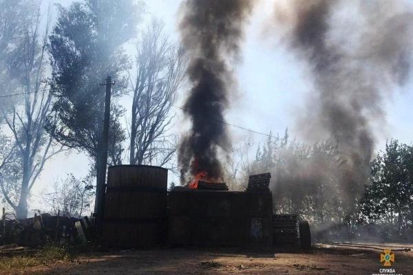 У Тернополі ледь не згоріла автозаправка