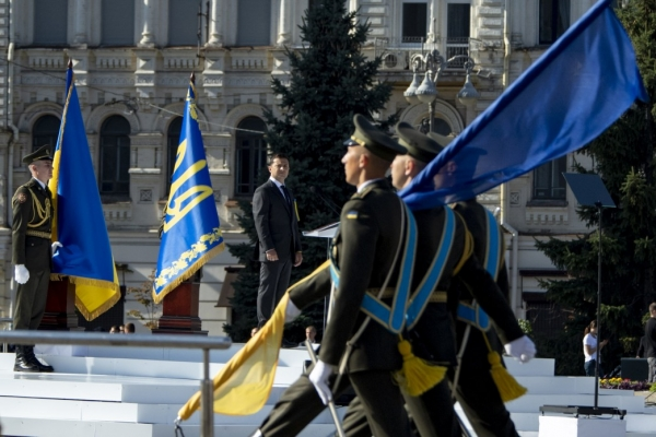Президент започаткував відзначення 29 серпня Дня пам'яті захисників України