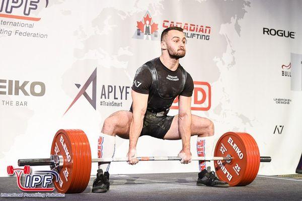 Віктор Гладкий з Бережан став чемпіоном світу-2019 з пауерліфтингу  серед юніорів