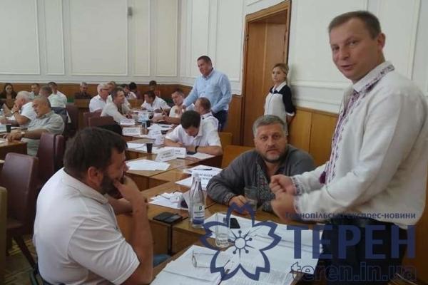 Для Степана Барни на Тернопільщині придумали нову посаду (Фото, Відео)