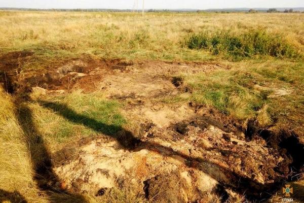 На Тернопільщині уже два дні горять поклади торфу