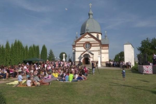 Фестиваль християнської молоді відбувся у селі Колодіївка Підволочиського району