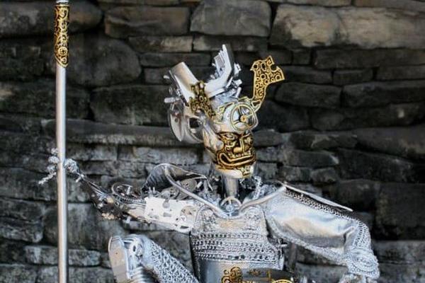 Химерні витвори тернопільського скульптора майстра джанк арт переїхали у Міжгір'я