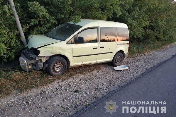 У Почаєві під час ДТП постраждали жінка і дитина