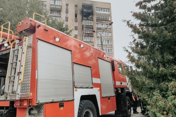 У Тернополі горіла квартира