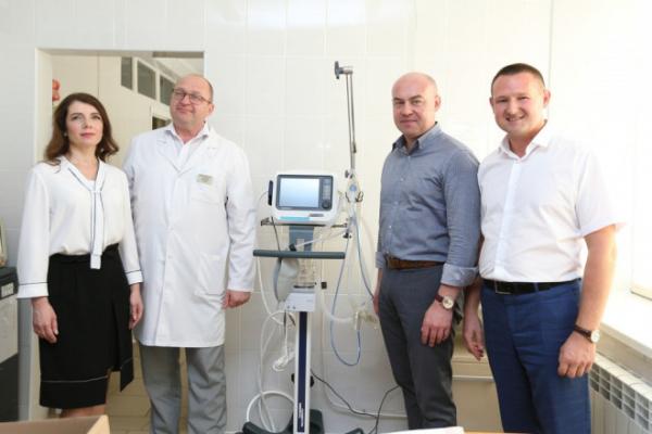 Дитяча лікарня Тернополя отримала нове обладнання, вартістю понад 1 мільйон