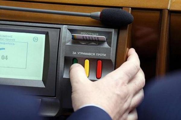 Як нардепи з Тернопільщини голосували за скасування депутатської недоторканності