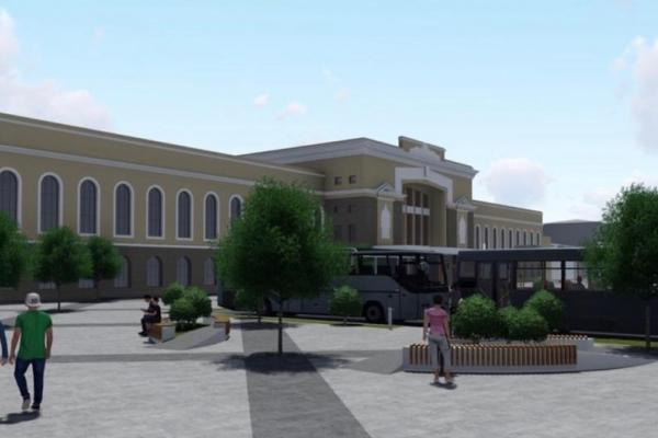 У Тернополі розпочали реконструкцію площі перед залізничним вокзалом
