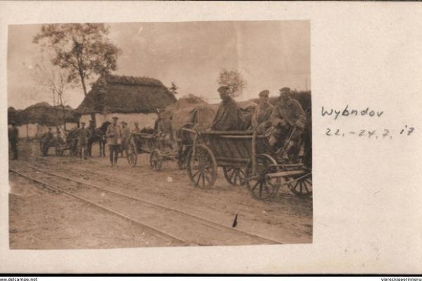 Село Вибудів на Тернопільщині 100 років тому