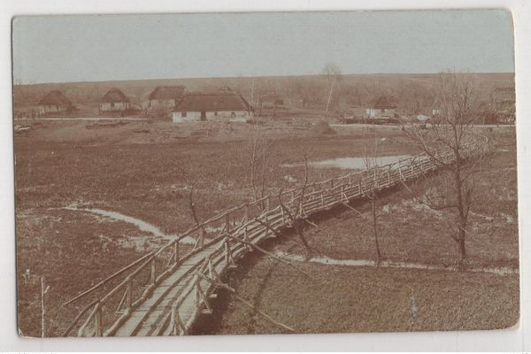 Село Панасівка на Тернопільщині 100 років тому