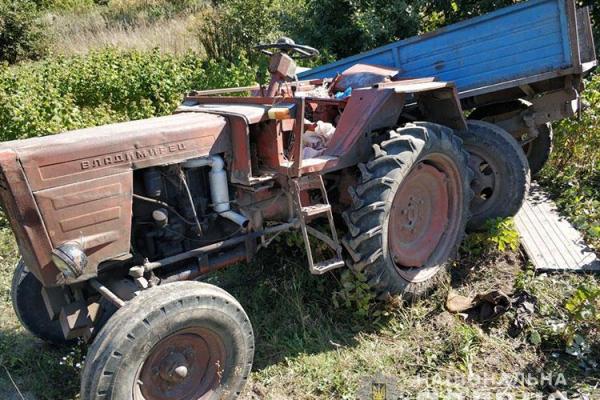 У Кременецькому районі загинув тракторист