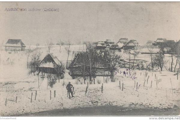 Село Ішків на Тернопільщині на фото 1910-х років