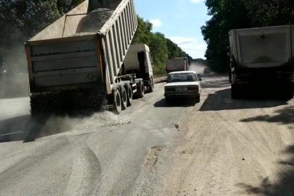 5 вересня розпочали ремонт дороги Тернопіль-Скалат-Жванець