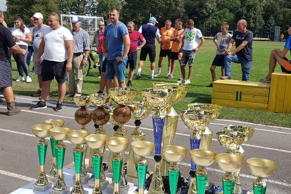 Команда Великогаївської ОТГ – чемпіони області