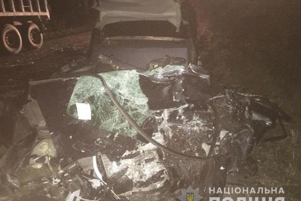 У Теребовлянському районі загинув водій