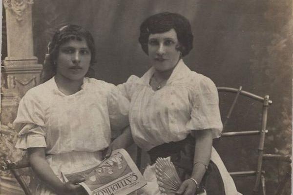 Стильні кременчанки на фото 1917 року