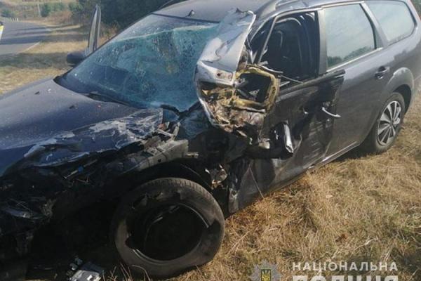 На Тернопільщині два автомобілі зіткнулися «лобами»