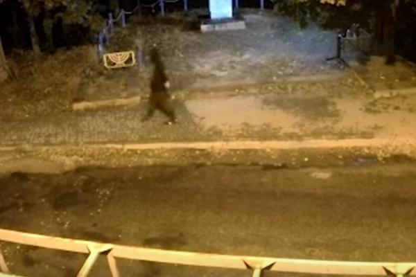Камери зафіксували підривника ректора ТНЕУ  (відео)